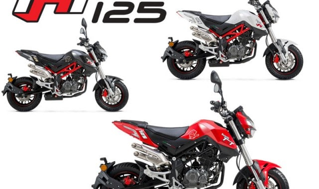 Benelli's Pocket Rocket hits the Perth streets