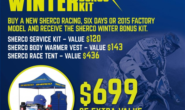 SHERCO WINTER BONUS KIT